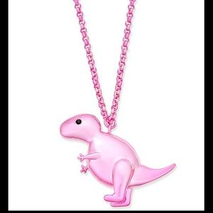 Kate Spade Rare T Rex Whimsies Pink Necklace